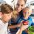 enfants · manger · bonbons · coloré · lumières · manger - photo stock © kzenon