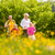 rodziny · jogging · łące · fitness · szczęśliwą · rodzinę · dwa - zdjęcia stock © Kzenon
