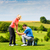 golf · 18 · uomo · giocare · verde · relax - foto d'archivio © kzenon