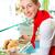 kebab · étterem · piros · paradicsom · fehér · forró - stock fotó © kzenon
