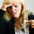 мигрень · женщину · плохо · болеутоляющее · таблетки · стекла - Сток-фото © Kzenon