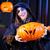 halloween · erkek · fotoğraf · tablo · siyah - stok fotoğraf © kzenon
