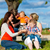 family   grandmother mother father and children stock photo © kzenon