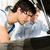 hombre · coche · mecánico · mirando · hombre · maduro · cliente - foto stock © Kzenon