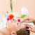 vrouw · hoofd · massage · spa · rechtstreeks · boven - stockfoto © kzenon