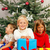 christmas   children with presents stock photo © kzenon
