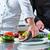 şefler · balık · restoran · otel · mutfak - stok fotoğraf © kzenon