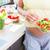 здорового · Салат · Ингредиенты · красочный · пластина · свет - Сток-фото © kzenon