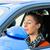 student · kierowcy · jazdy · instruktor · szkoły · młoda · kobieta - zdjęcia stock © kzenon