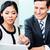 üzleti · csapat · megbeszél · projekt · kisvállalkozás · csapat · csoport - stock fotó © kzenon