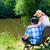 zatoczka · brzegu · krajobraz · streaming · rzeki · trawiasty - zdjęcia stock © kzenon