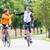 biciklisták · mozgás · kép · kettő · lovaglás · lefelé - stock fotó © kzenon