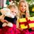 children receiving presents on christmas day stock photo © kzenon