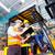 alto · cremalheira · caminhão · armazém - foto stock © kzenon