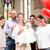 rodziców · baby · chrzczenie · kościoła · młodych - zdjęcia stock © kzenon