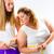 dünne · Fett · Frau · Taille · Band - stock foto © Kzenon