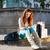 若い女性 · 座って · 手順 · かなり · 小さな · 笑顔の女性 - ストックフォト © kzenon