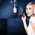 ázsiai · énekes · dal · zenei · stúdió · profi · zenész - stock fotó © Kzenon
