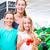 family grocery shopping in corner shop stock photo © kzenon