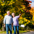 jesienią · spadek · spaceru · strony · człowiek - zdjęcia stock © Kzenon