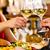 gelukkig · man · glas · wijn · restaurant · recreatie - stockfoto © kzenon
