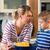 приготовления · семьи · дегустация · соус · кухне · матери - Сток-фото © kzenon