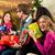 karácsony · vásárlás · barátok · bevásárlóközpont · diverzitás · csoport - stock fotó © kzenon