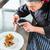 kucharz · zdjęcie · żywności · gotowany · telefonu - zdjęcia stock © Kzenon