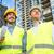 progrès · élevé · projet · construction · ingénieurs · femme - photo stock © kzenon