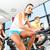giovani · fitness · palestra · gruppo · donne · uomini - foto d'archivio © Kzenon