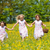 children on easter egg hunt with baskets stock photo © kzenon