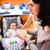 母親 · 赤ちゃん · 小さな · ベッド - ストックフォト © kzenon