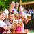 bier · tuin · vrienden · band · permanente - stockfoto © kzenon