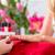nő · szalon · manikűr · szög · kéz · nők - stock fotó © kzenon