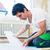 floorer working in home in improvement project stock photo © kzenon