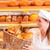 femenino · Baker · panadería · baguette · vendedora · frescos - foto stock © kzenon
