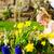 少女 · イースターエッグハント · 卵 · 女の子 · 草原 · 春 - ストックフォト © kzenon