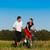 jóvenes · deporte · Pareja · correr · ciclismo · fitness - foto stock © kzenon