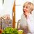 nő · almák · érett · mosolygó · nő · étel · alma - stock fotó © kzenon