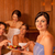 Four people or friends in sauna stock photo © Kzenon
