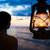 zachód · słońca · morza · wietrzyk · plaży · niebo · wygaśnięcia - zdjęcia stock © kzenon