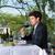 бизнесмен · обед · ресторан · бизнеса · Изысканные · ужины · улыбка - Сток-фото © Kzenon