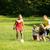 familia · jugando · fútbol · familia · feliz · fútbol · así - foto stock © Kzenon