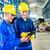 two workers in production plant as team stock photo © kzenon