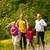 rodziny · uruchomiony · łące · sportu · szczęśliwą · rodzinę · dwa - zdjęcia stock © Kzenon