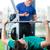 bank · druk · gewicht · lift · barbell · lichaam - stockfoto © kzenon
