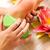 voeten · massage · vrouw · schoonheid · meisje · zorg - stockfoto © Kzenon