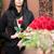 mulher · flores · caixão · funeral · pessoas · luto - foto stock © kzenon