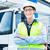 construtor · condução · construção · maquinaria · motorista · edifício - foto stock © kzenon