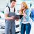 workshop mechanic handing over car to client stock photo © kzenon